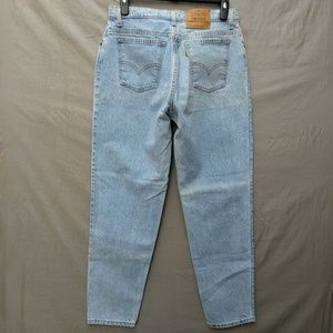 Levi's 951 Relaxed Fit Tapered Leg High Waist Jean
